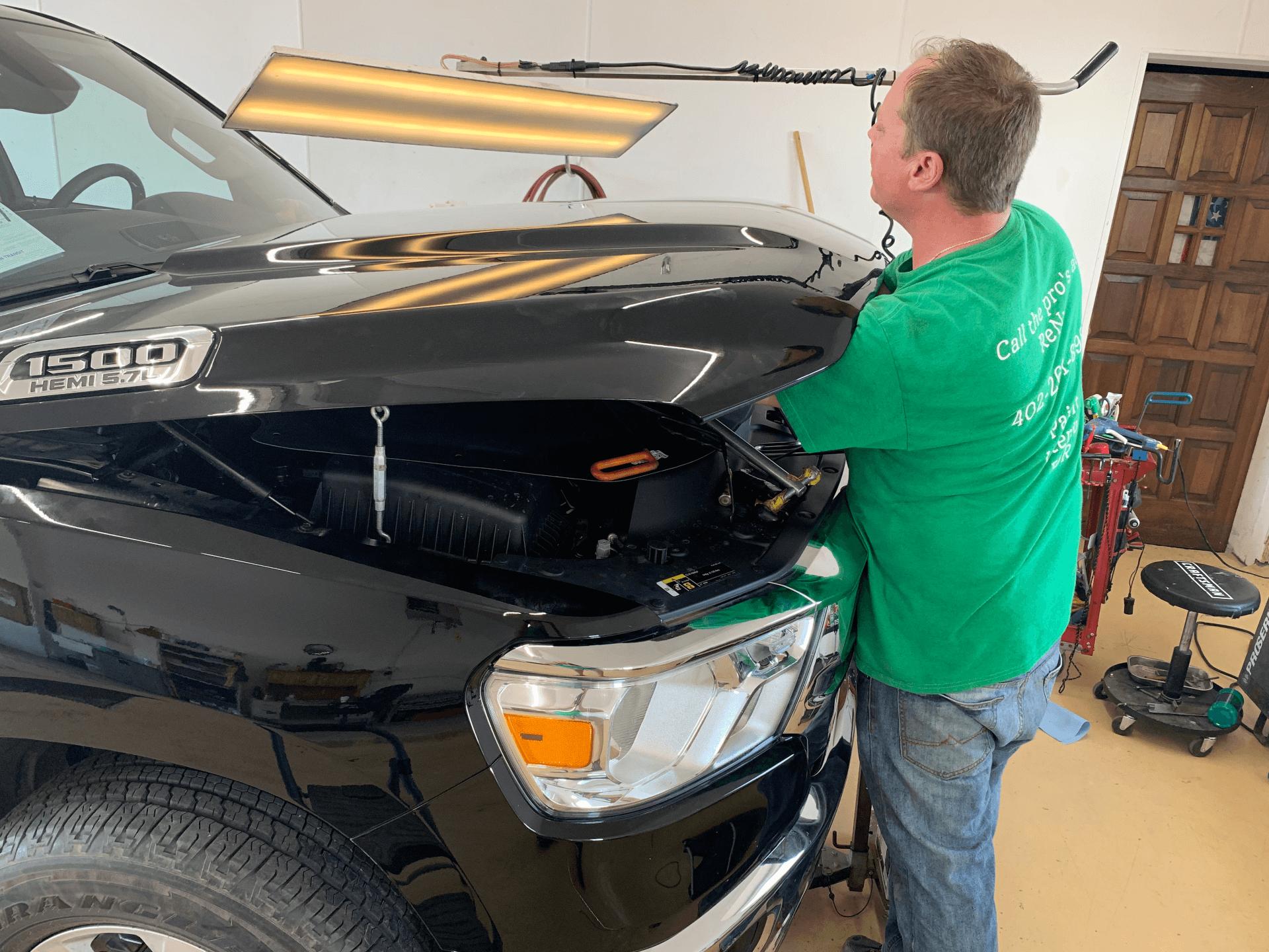 Paintless Dent Repair Lincoln NE